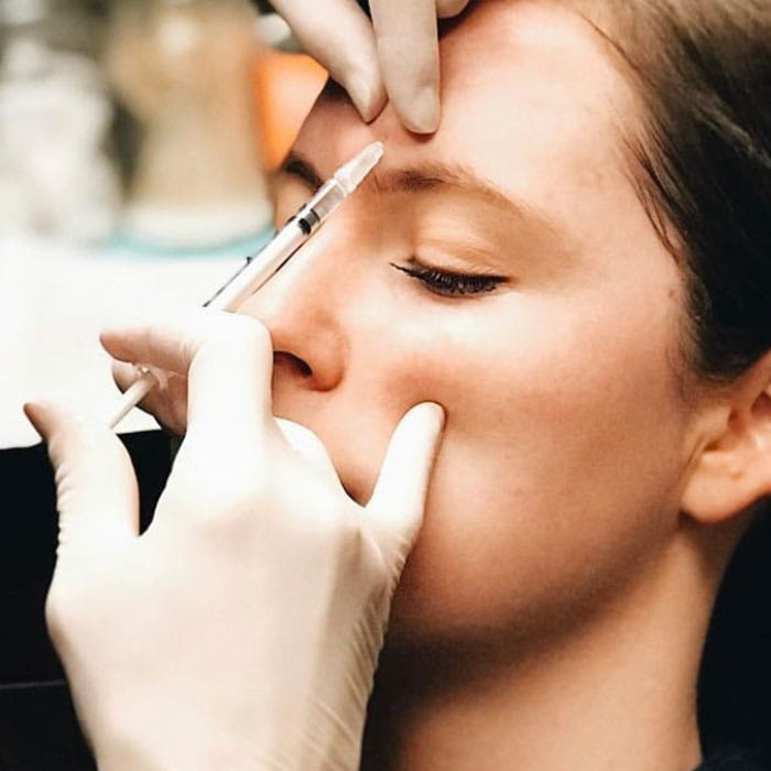 botox for womens frown lines